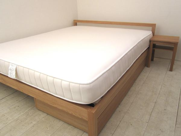 無印ダブルベッド買取 ベッド ...