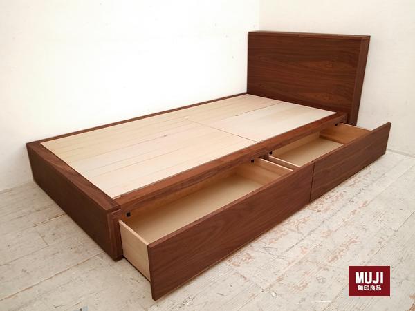 ... シングルベッド 無印良品パイン材の1枚目の画像 ...