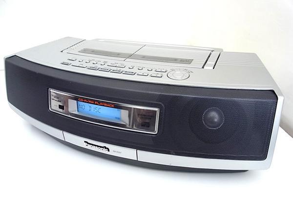 パナソニック■高音質Wカセット/CDラジカセ【RX-ED57】 オーディオ音響機材買取専門【アド