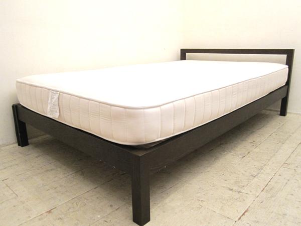 無印良品のタモ材のベッドを買取しました。