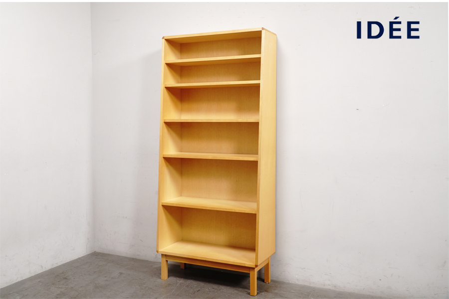 全体 IDEE(イデー)  ANTON BOOKSHELF(アントン ブックシェルフ) 飾り棚 本棚 アドア東京